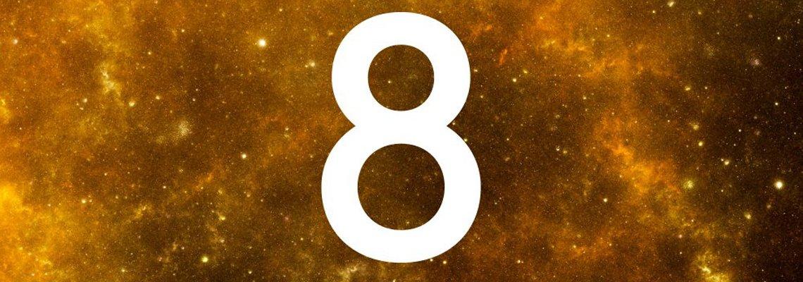 chiffre 8 en numérologie