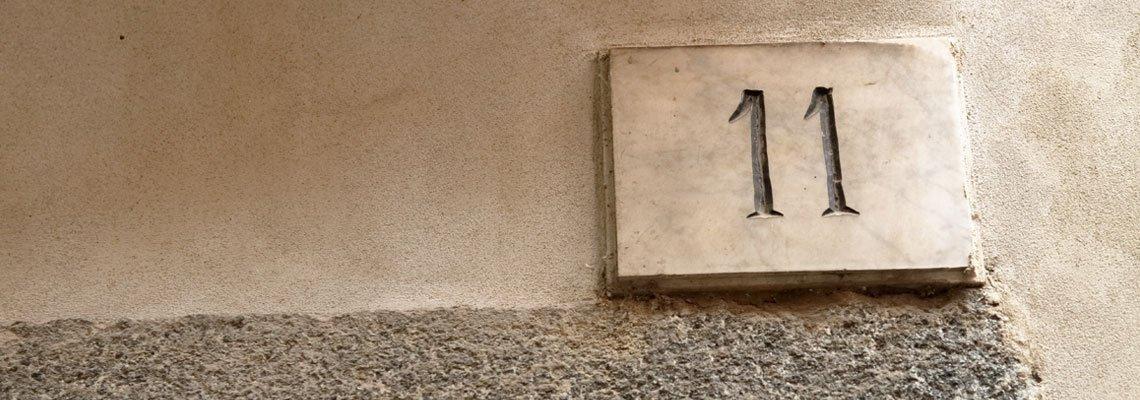 Signification du chiffre 11